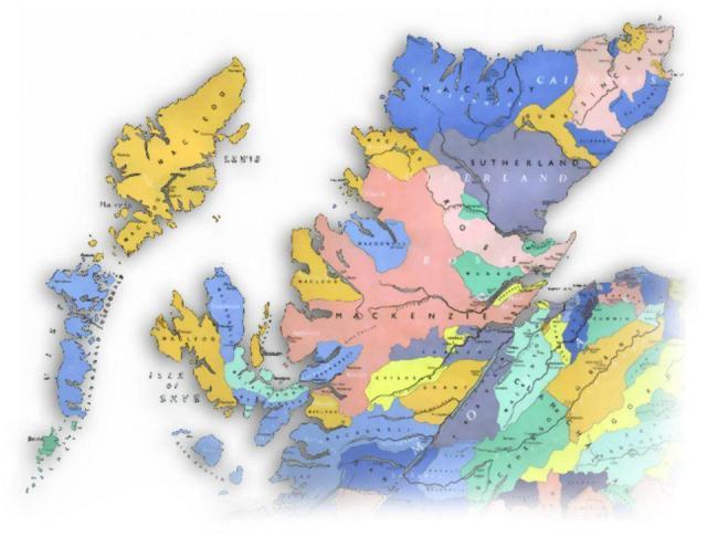 Clan Map